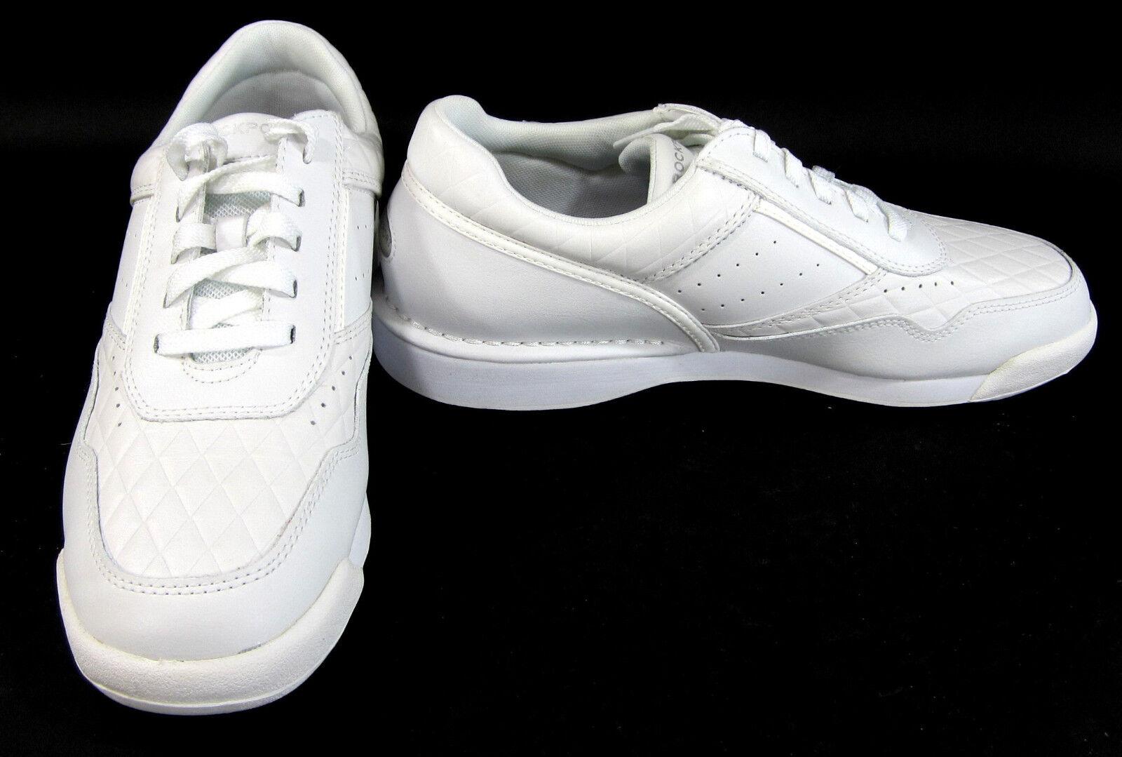 Rockport Scarpe Lo Athletic Pelle Diamond  New White Scarpe da Ginnastica Taglia 10