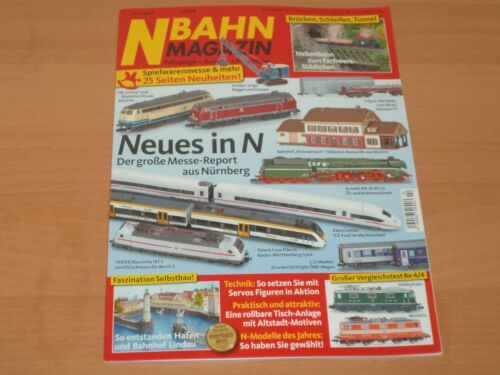 N BAHN MAGAZIN Fahrzeuge Praxistipps April 2019 Neuwertig! Anlagen