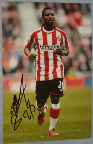 Stephane Sessegnon signed photo Sunderland, West Brom