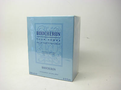 Boucheron Pour Homme / Men Limited Edition 3.3 oz  Edt -Fraicheur Spray, SEALED