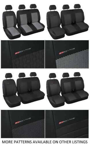 Van seat covers fit Volkswagen Transporter T5 grey P3