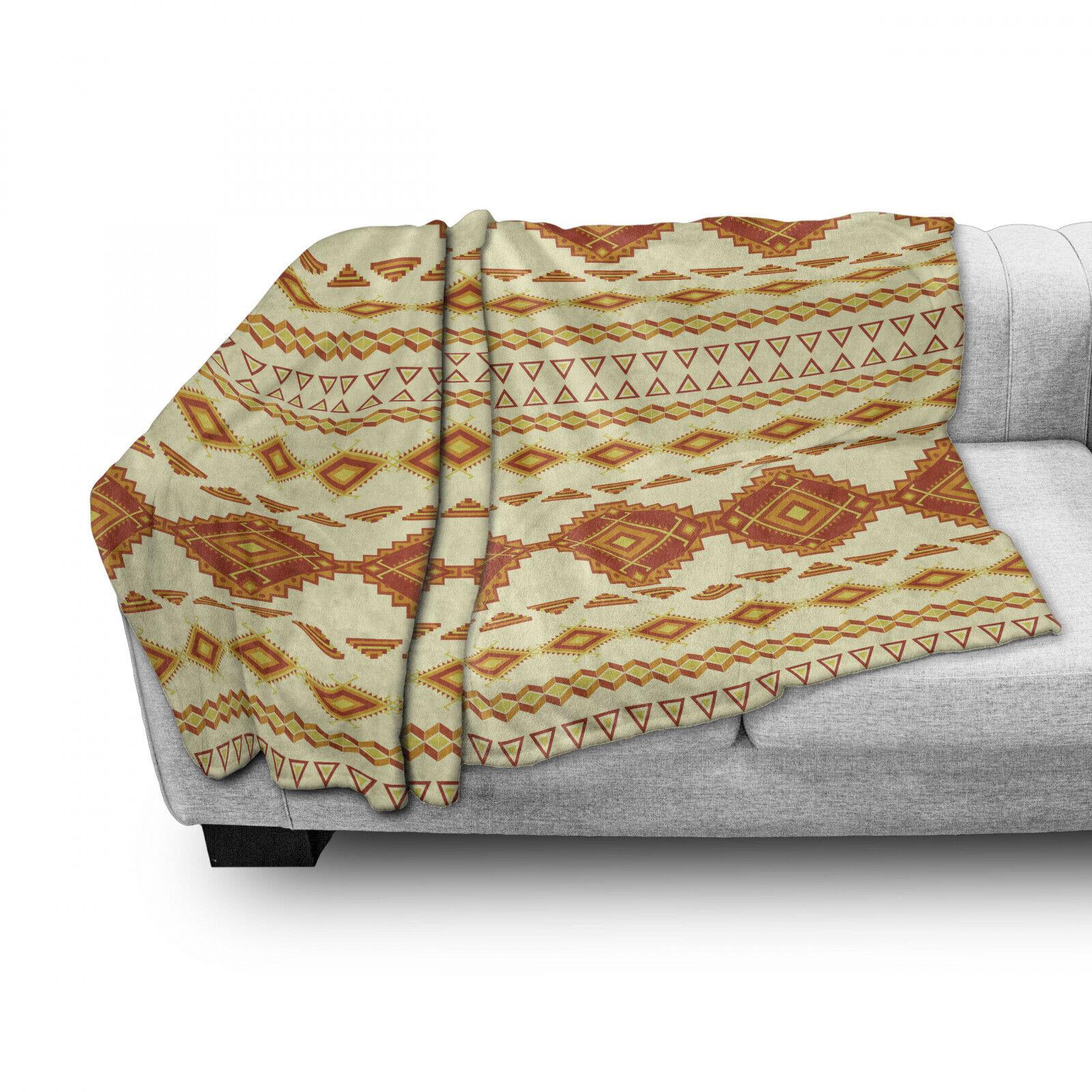 aztekisch Weich Flanell Fleece Decke Mexican Boho