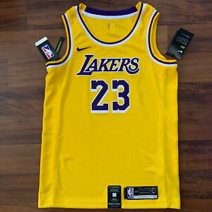 LeBron James Los Angeles Lakers Nike Icon Gold Swingman Jersey ...