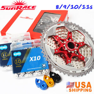 8-9-10-11S-MTB-Bike-Cassette-KMC-Chain-11-40-42-46T-Cycling-Chains-Sprocket-Cog