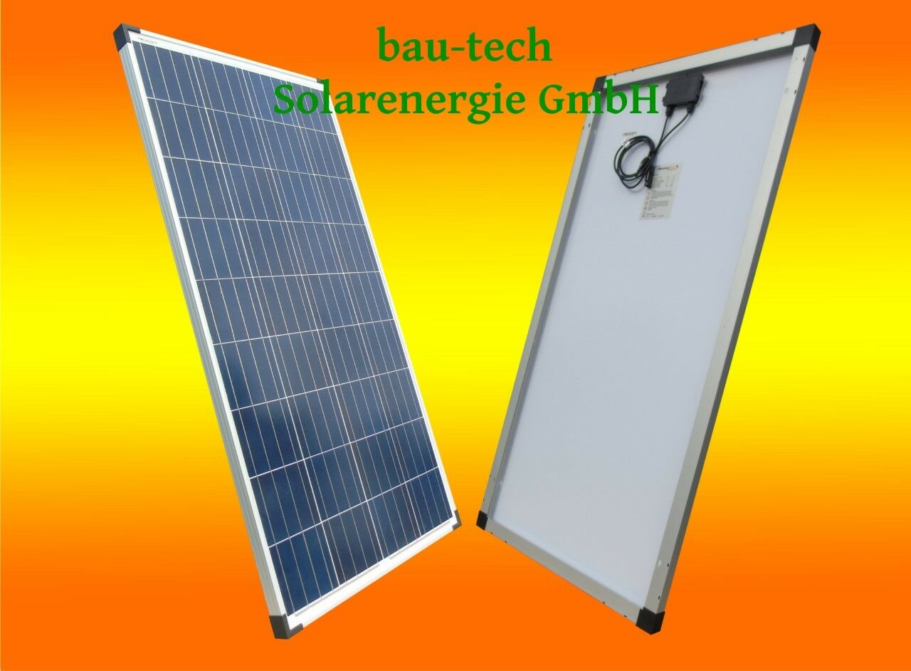 50Watt Solarmodul Polykristallin / Solarpanel / Paneel  / PV Solar Zelle Platte