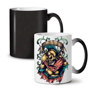 Dead Spartan Warrior NEW Colour Changing Tea Coffee Mug 11 oz | Wellcoda