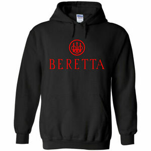 Beretta-Red-Logo-Hoodie-Sweatshirt-2nd-Amendment-Pro-Gun-Rights-Rifle-Pistol-New