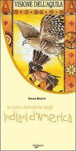 Carte-Divinatorie-Degli-Indiani-D-039-America-Cof-Nuovo-Libro-esplicativo-Tarocch