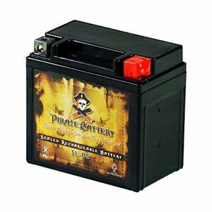 48W-Power-Sport-Leak-Free-Battery-YTX5L-BS-Fits-in-NH-90-Aero-80cc-Suzuki-LT800
