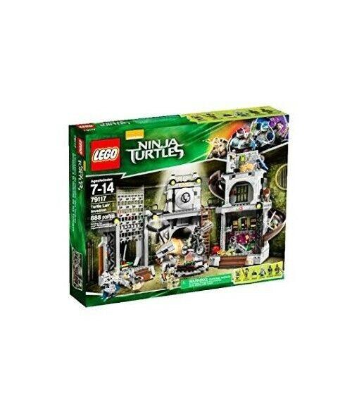 Lego -  Lego Turtles 79117 L'INVASIONE DEL COVO DELLE T. - 5702015126632  compra meglio