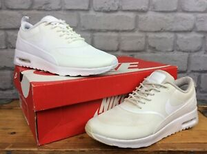 NIKE-AIR-MAX-LADIES-THEA-II-WHITE-TRAINERS-RUNNING-VARIOUS-SIZES-T
