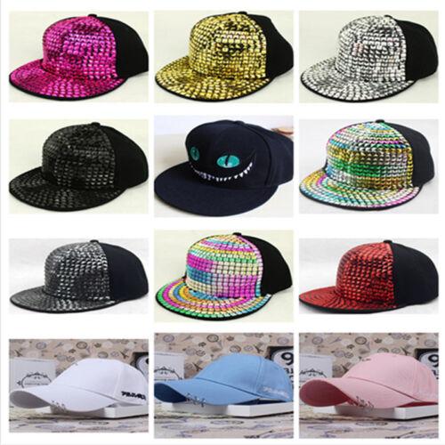 Men Women Snapback Adjustable Baseball Cap Hip Hop Hats Cool Bboy Unisex 2017