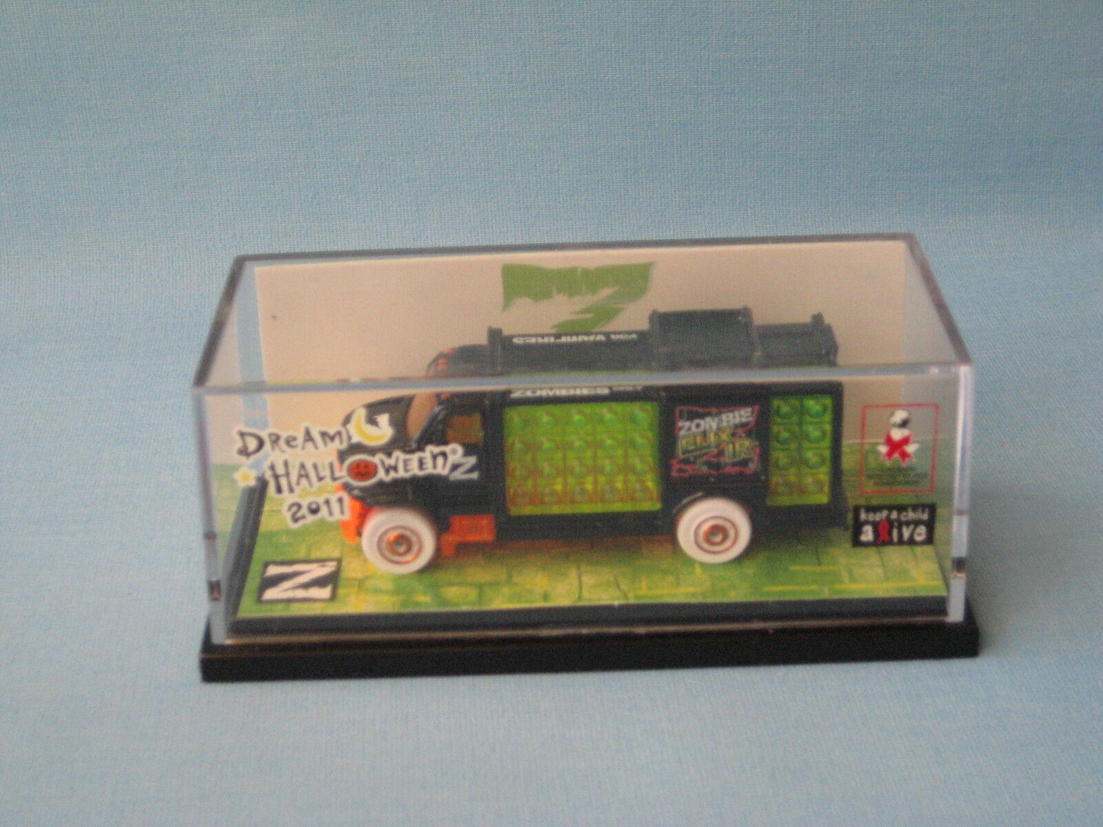 Matchbox aqua boissons camion de livraison dream halloween 2011 ball usa issue rare