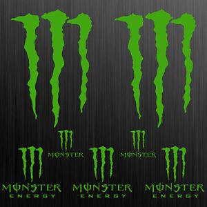 MONSTER-XL-aufkleber-sticker-motorrad-motorcycle-auto-tuning-claw-7-Stucke-Pcs