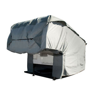 """RV Cover for Travel Trailer Truck Camper Motorhome Outoor Fits up to 144"""" Length"""