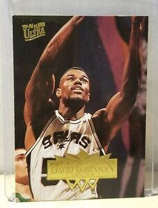David ROBINSON 1995-96 Ultra #167 / Spurs / Mint