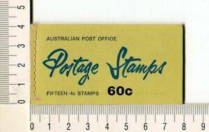 41130) Australia 1966 MNH QEII 4c (x15) n.385 Booklet Sg B39 -imperf L & R