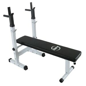 Kms foldable bench press u chest weight indoor fitness exercise