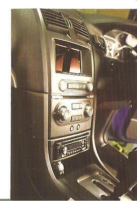 NEW! Ford Falcon BA-BF /& Territory Radio dash facia
