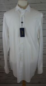 NEW-Polo-Ralph-Lauren-Men-039-s-Big-amp-Tall-Twill-Sport-Shirt-White-XLT-Tall-165-00