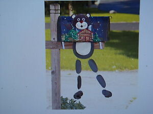 MB22 FARMHOUSE FLOWERS SPRING SUMMER  MAGNETIC MAILBOX COVER STANDARD SIZE