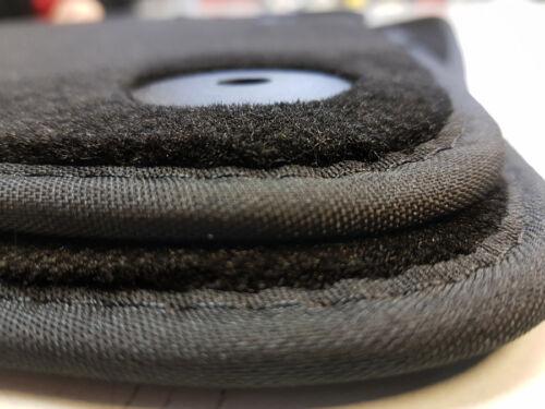 Goma conjunto de tapices atrás negro 2 piezas AUDI a1 original audi nuevo