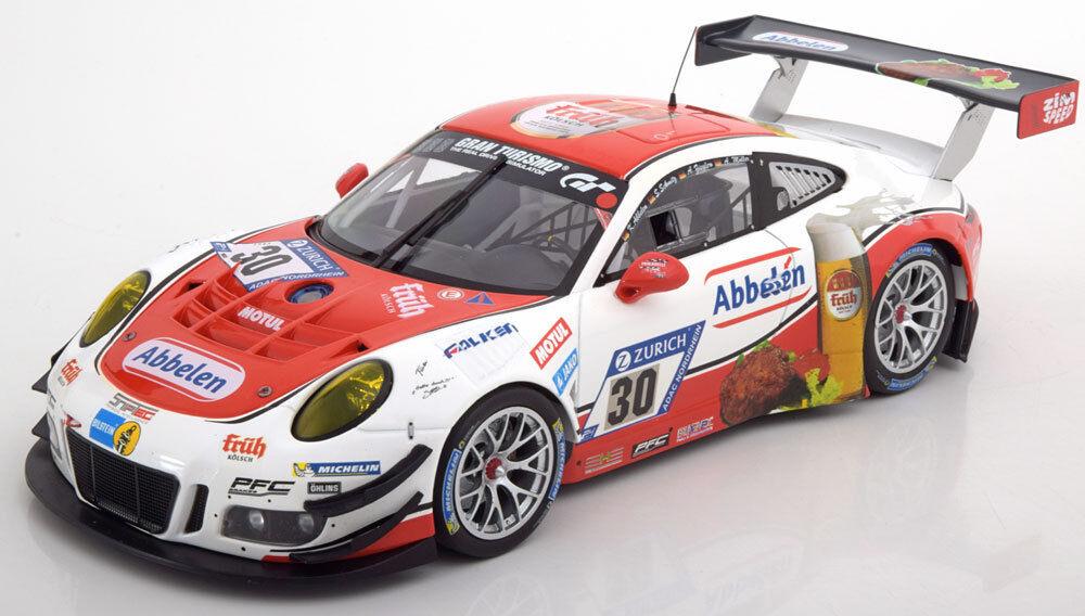 1 18 Minichamps Minichamps Minichamps Porsche 911 (991 II) GT3 R  30, 24h Nürburgring 2017  | Zuverlässige Qualität  f8e632