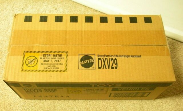 Disney Pixar Cars 3 Chester Whipplefilter 1:55 Scale 2016 DieCast Mattel DMG BOX