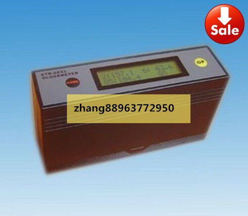 ETB-0833 Self-Calibration 20˚ 60˚ 85˚ Glossmeter Gloss Meter Tester 0-200Gu zh88