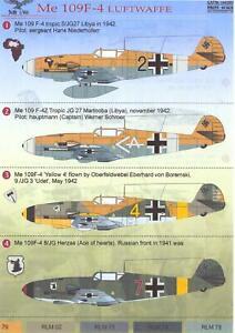 Print-Scale-Decals-1-144-MESSERSCHMITT-Bf-109F-4-German-WWII-Fighter