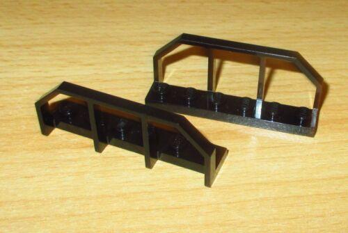 Lego city 2 x clôture des clôtures ferroviaire 1x6-en Noir 6583 658326