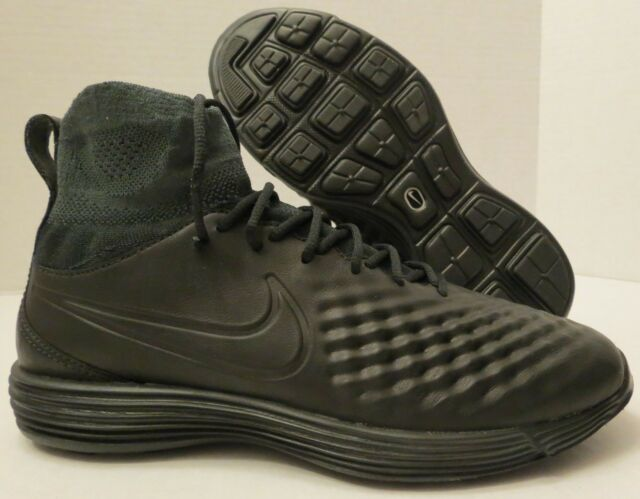 1763effff5f5 NIKE LUNAR MAGISTA II FK BLACK 852614 001 BLACK (MEN S 7) BOYS YOUTH FLYKNIT