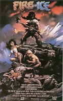 Fire And Ice Ralph Bakshi Frank Frazetta Animated Original S/s Movie Poster