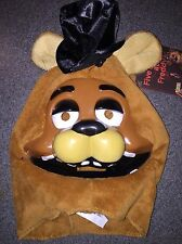NWT FIVE NIGHTS AT FREDDY'S FREDDY MASK HALLOWEEN I SHIP EVERYDAY