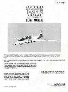 CESSNA-T-37B-FLIGHT-MANUAL-T-O-1T-37B-1