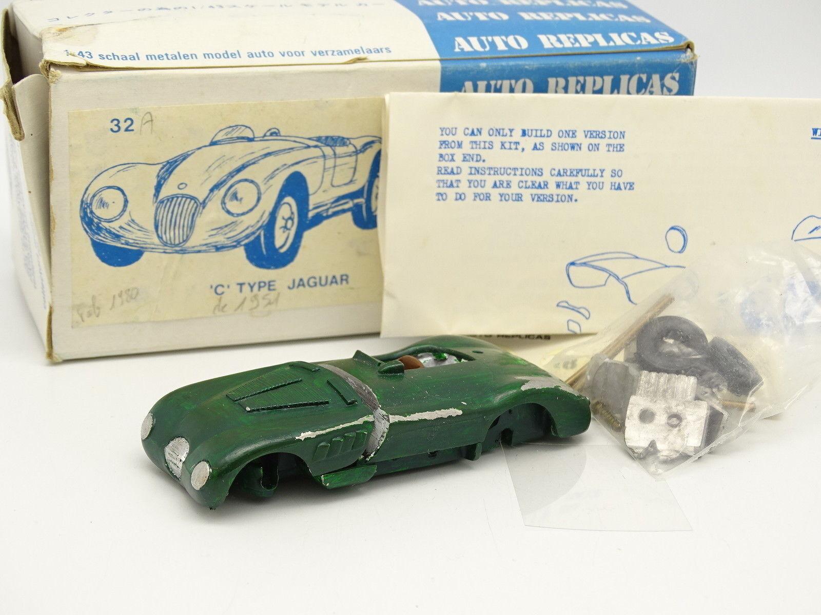 Auto Replicas Kit Assembled 1 1 1 43 - Jaguar Type C 00e385