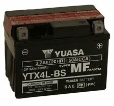 YUASA YTX4L-BS, 12V 3AH FOR MOTORCYCLE, MOTORBIKE, QUAD BIKE, JET SKI