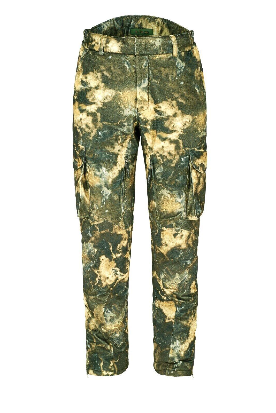 X-caza ansitz-función pantalones icelander-thermofit-en silencio  + ultrawarm Woodland  hasta un 65% de descuento