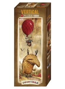 ZOZOVILLE - RED BALLOON - Heye Vertical Puzzle 29743 - 1000 Teile Pcs.