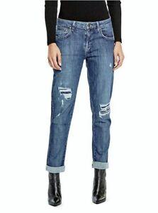 distrutto di aderenti 27 attillati Guess lavaggio Sz donna Jeans da nPqApn0