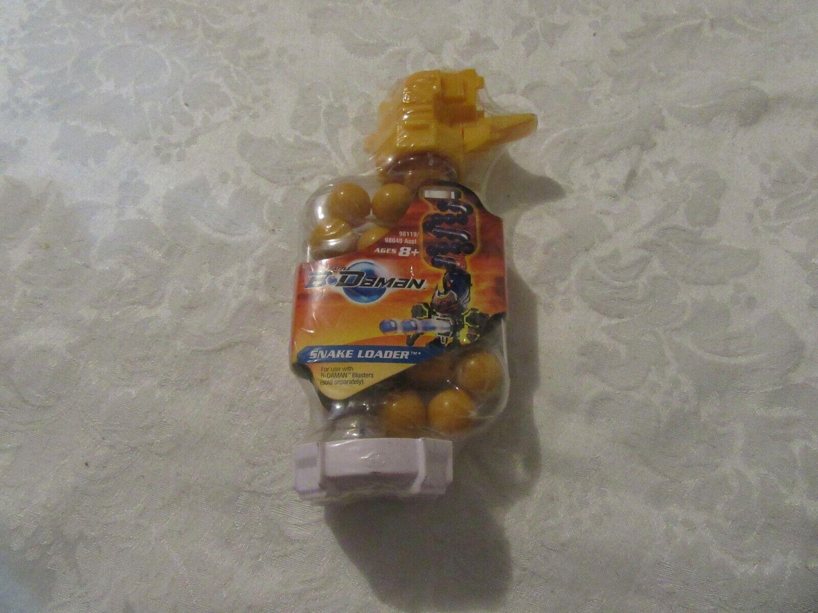 Hasbro 2005 Batalla B-daman Serpiente Cochegador Amarillo