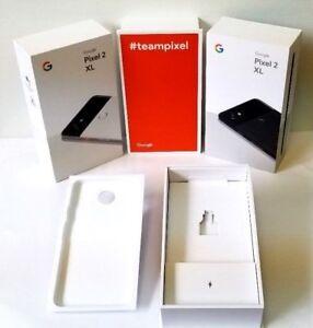 huge discount f6e82 53d7b Details about Google Pixel 2 XL Box Original Retail Packaging Only No Phone  No Accessories