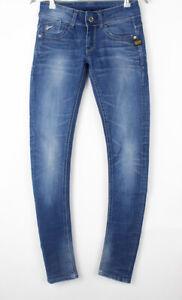 G-STAR RAW Women Lynn Skinny Slim Stretch Jeans Size W25 L32