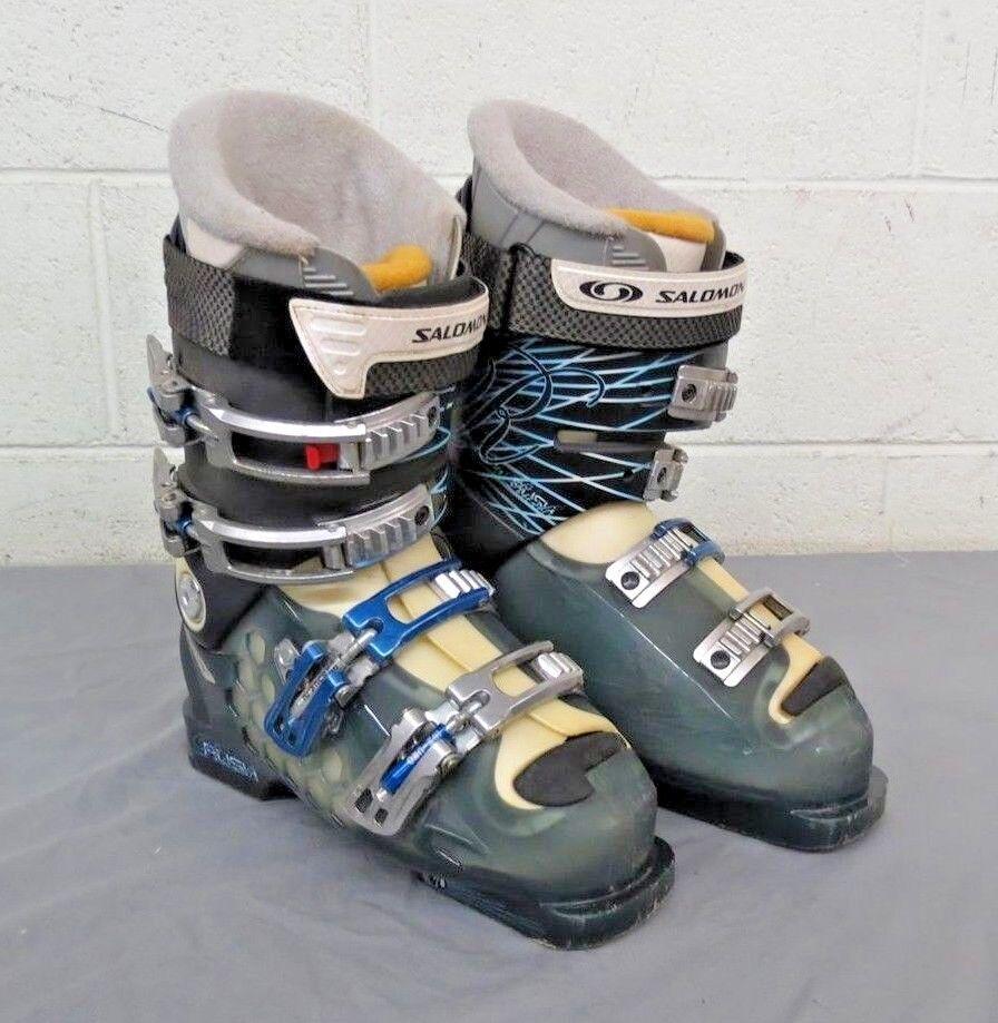 Salomon Rush 8 High-Quality Women's Downhill Ski Boots MDP 24 US 7 NO INSOLES