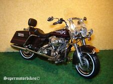 1:12 Harley Davidson FLHRI Road King Dunkelrot 2006 / 02521