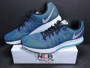 por no mencionar rifle eximir  Nike Air Zoom Pegasus 32 Flash H20 806576-400 Blue Men's Size 15  886916771728 | eBay