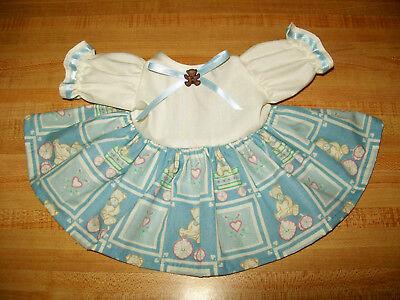 "puppy dog ladybug flower butterfly KNIT DRESS for 16/""-18/"" CPK Cabbage Patch Kids"