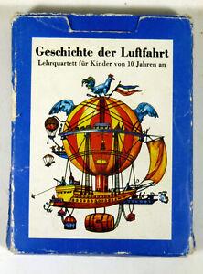 Quartett-Geschichte-der-Luftfahrt-Possneck-Altenburger-1979