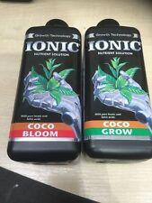 Ionic coco Crecimiento y Floración 1 Litro envase en frasco. HW. Hidroponía crecer crecer tiendas de campaña.