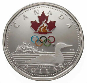 Lucky Loonie  - 2004 Canada $1 Sterling Silver Coin